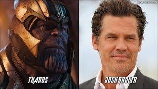 Avengers: Infinity War Characters Voice Actors