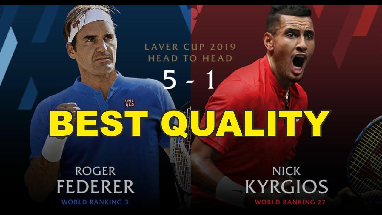 Federer v Kyrgios | Laver Cup 2019 FULL MATCH 6 | 50 FPS HD