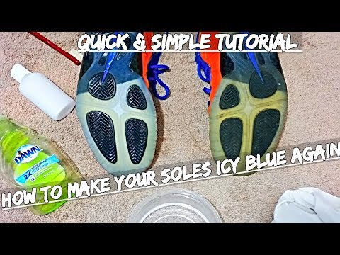 How To Make Your Soles Icy Blue Again | Sneaker Reviver