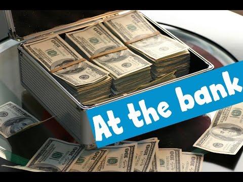 English Conversation: At the Bank
