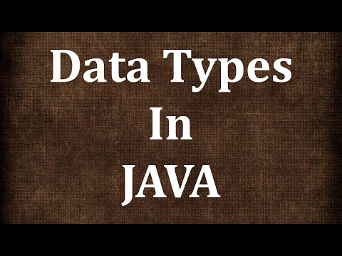 Java Tutorial # 4 | Data Types and Type conversions in Java | JAVA9S.com