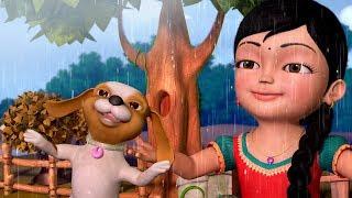 The Rain Song | Hindi Rhymes for Children | Infobells