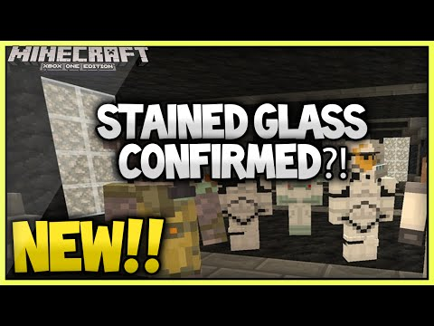 (NEW!) MINECRAFT STAINED GLASS SCREENSHOT!!!(Xbox 360 /Ps3/Xbox one/Ps4)