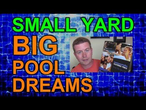 Small Yard Big Pool Dreams Episode 2 - Choosing A Contractor Pool Builder