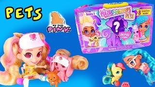 Download СОБИРАЕМ СЕМЕЙКИ КУКОЛ Hairdorables! PETS! ПИТОМЦЫ 1й Серии! Мультик с Игрушками #Surprise Toys Video