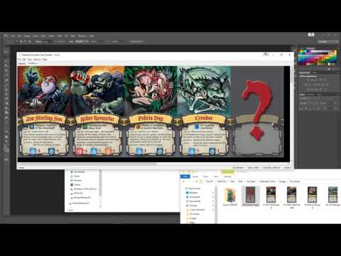 Tabletop Simulator Tutorial 02 ~ Custom Cards and the Deck Builder