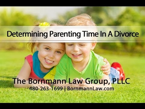 Determining Parenting Time In A Divorce