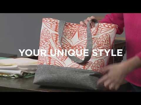 Build Your Own Tote: The Basic Bag (Official Trailer) with Betz White