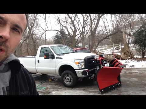 How to Wash the Bottom of your Snow Plow Truck