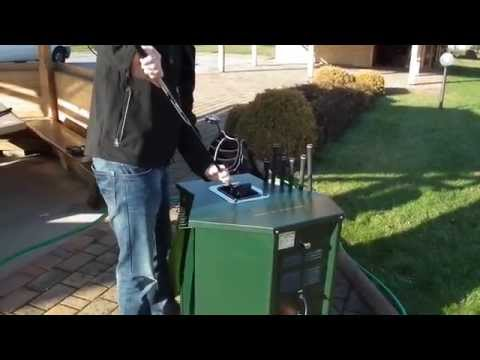 Gato GT1 golf club cleaner - CLEANING A SET OF GOLF CLUBS