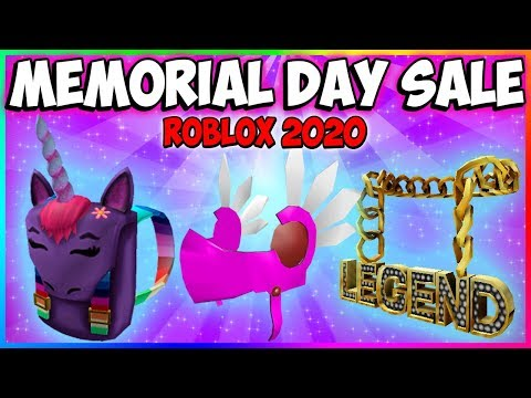 🔴 ROBLOX Memorial Day SALE 2020    NEW ITEMS & LIMITEDS?    ROBLOX Live Stream