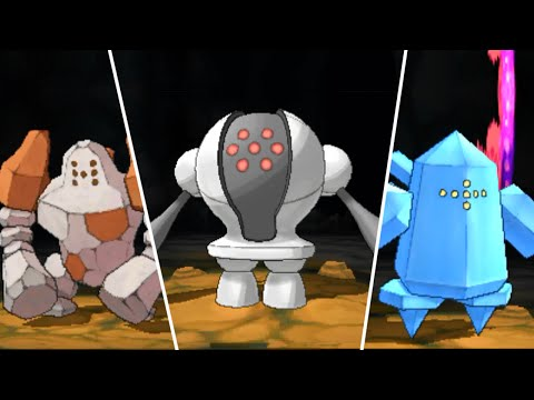 Pokémon Omega Ruby: Regirock, Regice and Registeel Encounter