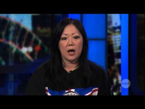 Margaret Cho interview on The Project (2013)