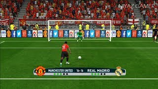 Manchester United vs Real Madrid   Penalty Shootout   PES 2017 Gameplay