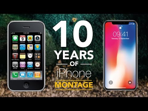 10 Years Of iPhone - MONTAGE