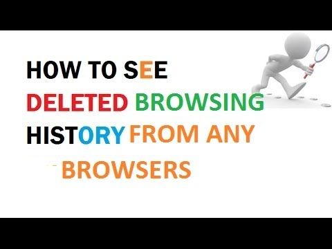 HOW TO SEE THE DELETED BROWSING HISTORY (FROM ANY BROWSERS)