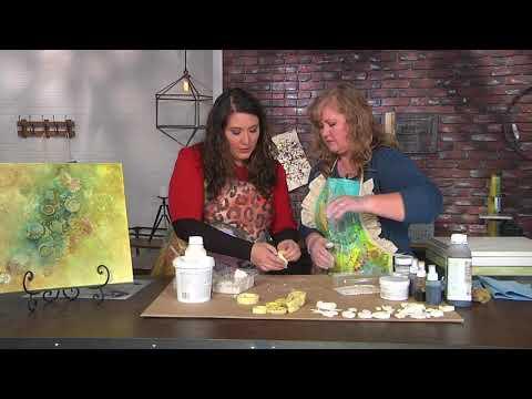 Learn about a new medium: wax on Make It Artsy with Cheryl Boglioli (409-2)
