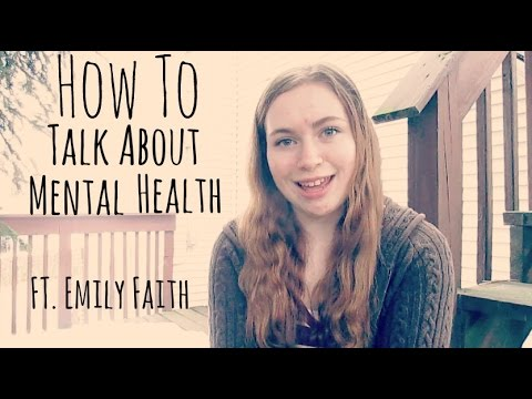How To Talk About Your Mental Health with Friends and Family!