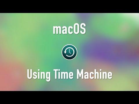 macOS: Time Machine