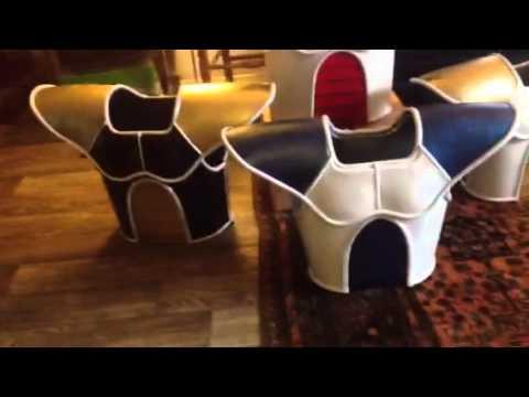 Dragon Ball Z real Saiyan armor