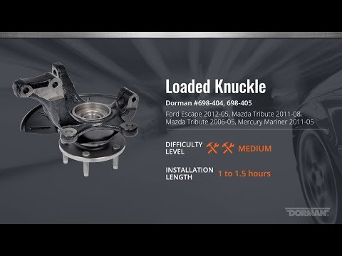 Loaded Knuckle Installation Video by Dorman Products