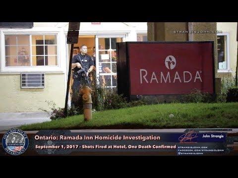 Ontario: Ramada Inn Homicide Investigation