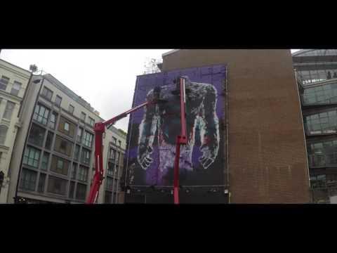 Cool Monster street art