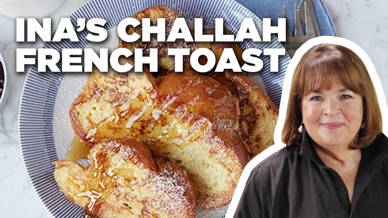 Barefoot Contessa's Challah French Toast   Barefoot Contessa   Food Network