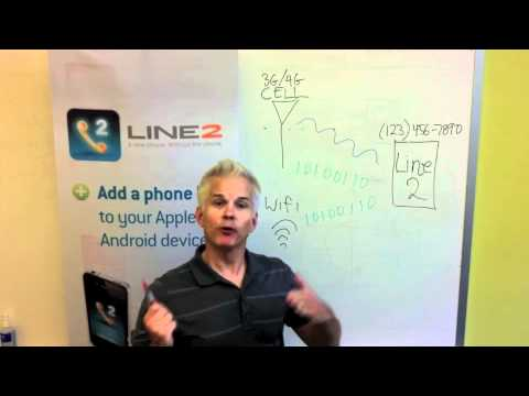 Skype vs. Line2 - Mobile VoIP Comparison
