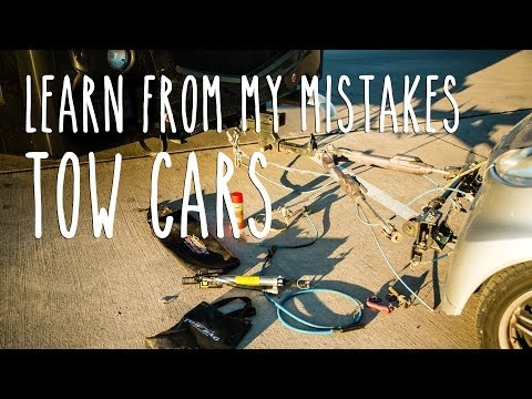 Learn From My Mistakes - RV Tow Cars