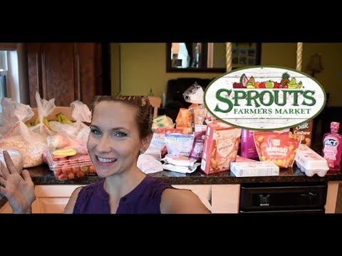 Weekly Grocery Haul at Sprouts!!  Lots of Pantry Items! Woop!! Bulk Food!!