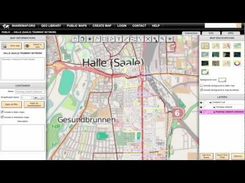 Creating map with vector backgrounds from Open Street Map