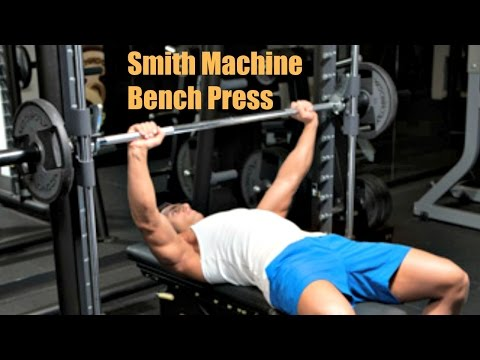 Smith Machine bench press just as effective as Barbell bench press