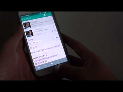 Samsung Galaxy S5: How to Save an Email to the Phone