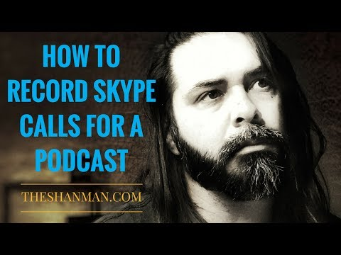 How To Record Skype Calls For Podcast With Adobe Audition