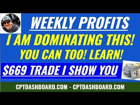$669 Weekly Profit using a Cash Secured Put and Covered Call Write - weekly option money!