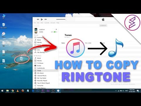 How To Copy Ringtone Into iPhone
