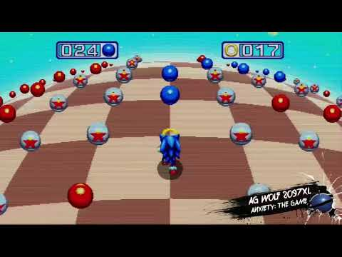 Sonic Mania Bonus Stage - Anxiety: The Game