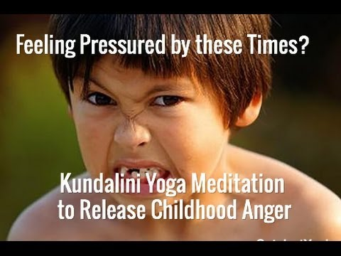 Release Childhood Anger with full 11 Min Meditation
