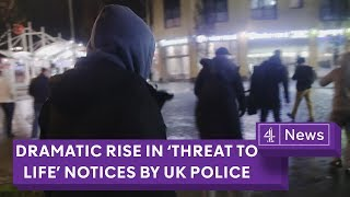 Youth crime: dramatic rise in 'threat to life' notices by UK police