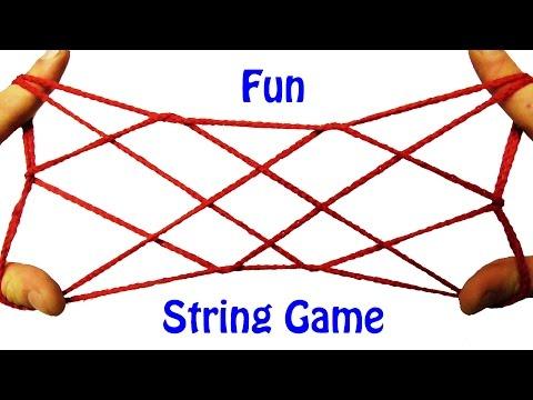 String Tricks! 7 Diamonds String Figure Step By Step