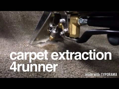 Cleaning Really Dirty Car Carpets - Before and After