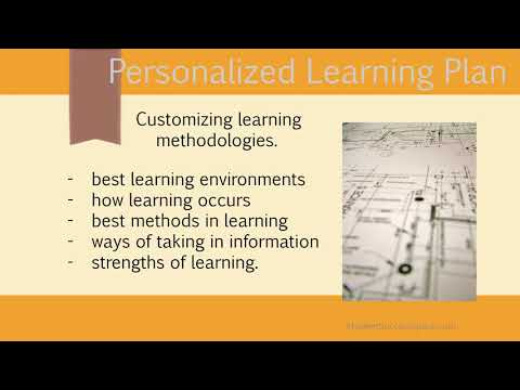 The Personalized Learning Plan Intro