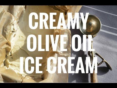 Creamy Olive Oil Ice Cream