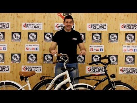 Cruiser kerékpár - kerékpár típus - bemutatás, tippek
