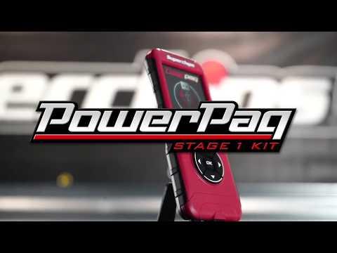 Superchips Powerpaq  Flashpaq Tuner and Jammer Gas Intake Combo
