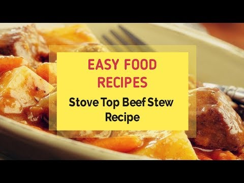 Stove Top Beef Stew Recipe
