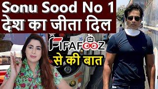 Sonu Sood ने किया ज़बरदस्त काम !! देश ने किया सलाम !! Fifafooz से बोले अभी भी field में हूँ