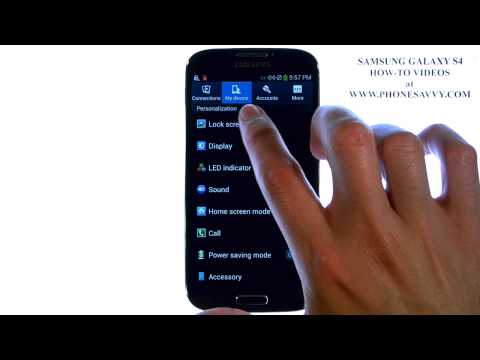 Samsung Galaxy S4 - How Do I Disable Lock Screen Sound