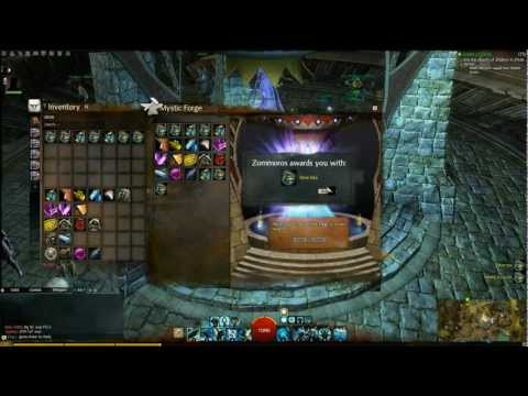 Guild wars 2 Mystic Forge - Rare dyes